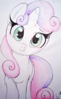 Sweetie Belle by PrettyPinkP0ny