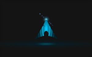 floating arch linux logo by Sgtconker1r
