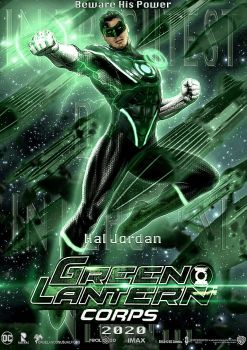Green Lantern - DCEU by zg01man