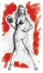 Fright Night Regine pencils by DougSQ