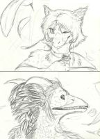 Avatar WIP Commission Batch 2 by Earthsong9405