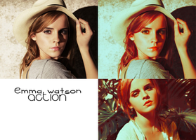Emma Watson action by Cornelie20