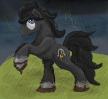 Thunder Hooves by Cloudy-Dreamscape