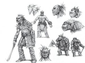 On the Shoulders of Heroes- Orcs