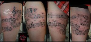 Beethoven Score by Reddogtattoo