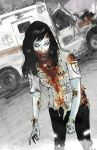 Paramedic Zombie by Devin-Francisco