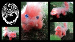 Adorable lil' OOAK handmade Poseable - SOLD by SonsationalCreations