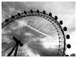 London Eye by K--a--t--i--e