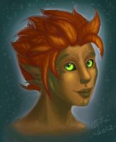 It's a cute Sylvari Moment by Quisty