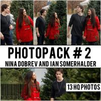 Nina Dobrev And Ian Somerhalder Photopack by ArzCullenEditions