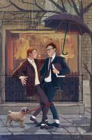 Kingsman: Cheaty Dog! by MisterLIAR