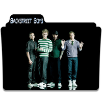 Backstreet Boys Folder Icon 2 by gterritory