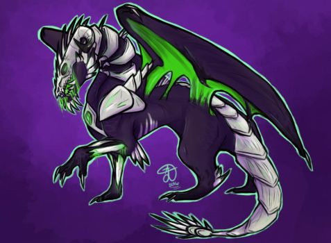 Demon Dragon by AeonianDragon76
