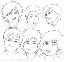 Billie Joe - sketchy like 18 by kelly42fox