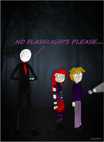 Slendy hates flashlights by The-Real-Shaydee