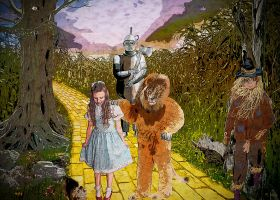 In Search of the Wizard of Oz-En Busca del Mago de by Mvicen