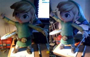 Toon Link papercraft by Teris-DA