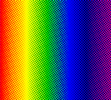 Dotted Rainbow Background by Sonic-makes-me-smile