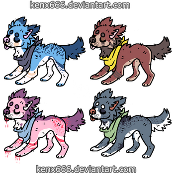 song themed adopts OTA (Offer To Adopt) OPEN 3/4 by kenx666