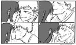 naruhina month day 11 - kiss by Jesslynnnj