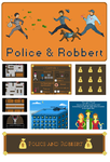 Police And Robbert [GameMaker game] by kozieBubble