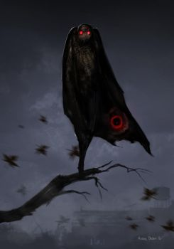 Mothman-2 by HaitisWorst