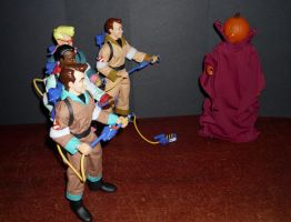 The Real Ghostbusters vs. SamHain by CyberDrone