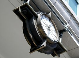 Art deco clock 2, London by hecestmoi