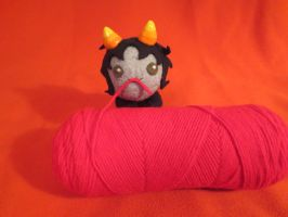 Nepeta Grub: Play with yarn. by hydr0ph0en1x