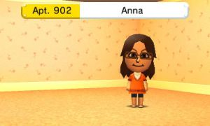 Anna in Tomodachi Life by GWizard777