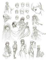 Sketch dump by Yoon-san