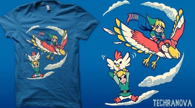 A Better Way to Fly - Qwertee by TechraNova