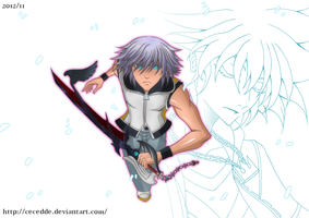 Dream-Eater Riku to the rescue! by Cecedde