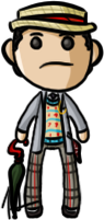 Doctor Who - Seventh Doctor by shrimp-pops