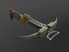 Stylized Crossbow by Draydin-r