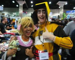 Claptrap and Tiny Tina 2 by Wolf-Shadow77