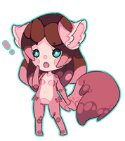 chibi - art trade by PyroGoth
