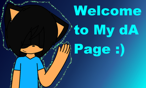 Welcome to my Page by InsaneVaporeon