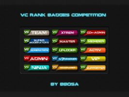 VC RANK BADGES Competition by bbosa