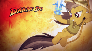 Daring Do Wallpaper by SandwichDelta