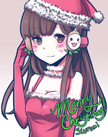 Christmas D.VA by scurumi