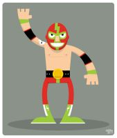 luchador by striffle
