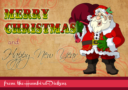 2014 Christmas and New Year Card by BenjaminTDickens