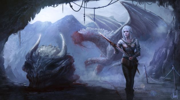 Dragonfall by workinsane