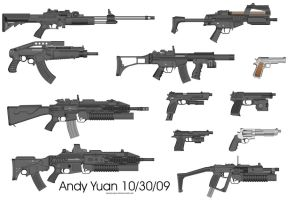 Rifles from Pimp My Gun 7 by c-force