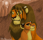 Kiah and Daddy (2008 Work) by Kobbzz