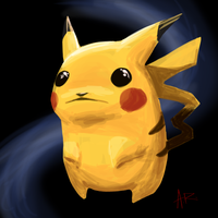 Weird Pikachu Sketch of Weirdness by ComicMasterX