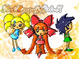 The Micropuff Girls Z by feather-chan