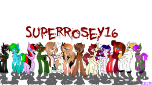 SuperRosey16 channel contest( Speedpaint) by TheLILCrazyMoney