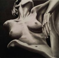 nude in pencil from a MichaelPe photo by stevenbeattie